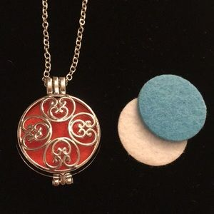 Jewelry - Silver Locket Essential Oil Defuser